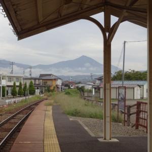 稔の秋を会津鉄道で走る