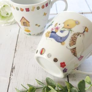 【ポーセラーツ生徒さま作品】プレゼントに♡好きな柄で作るマグカップ