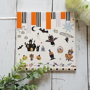 【ポーセラーツ生徒さま作品】季節のレッスン!ハロウィンタイル