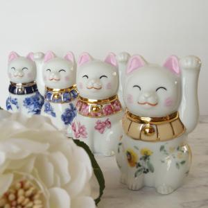 ポーセラーツで作る世界に一つだけの招き猫