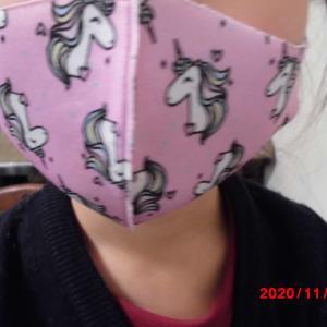 マスクの模様