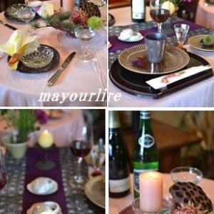 12月のテーブルコーディネート
