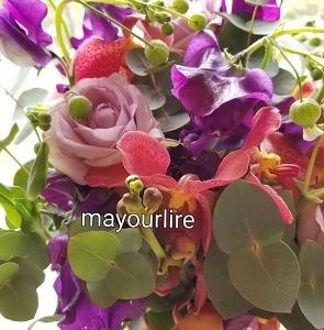 お届けのお花