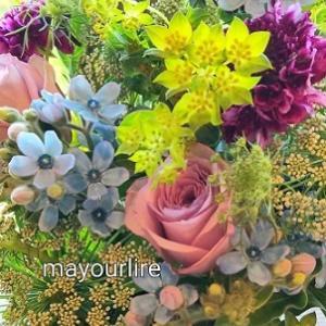 お届のお花