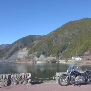 年明けの名栗湖