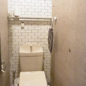 トイレの壁紙をプチ補修しました。