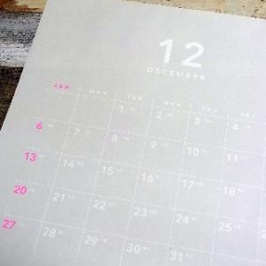 セリアのカレンダーとダイソーのぽち袋