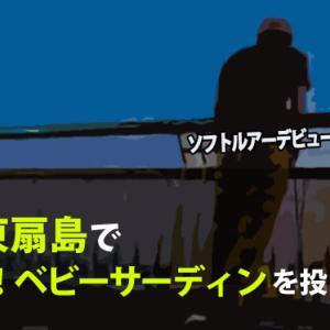 【釣果報告】初めてのソフトルアー!9月初旬東扇島でガルプ!ベビーサーディンを投げてみた