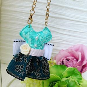 M's☆ミニドレスのバッグチャーム
