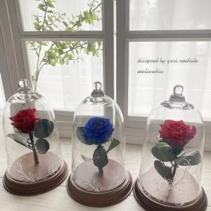 ・ 一輪のバラをお洒落に~