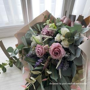 ・ 結婚式の両親へ贈呈用の花