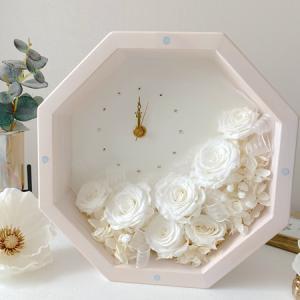 ・ 八角形の花時計