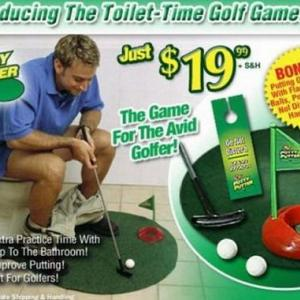 トイレでゴルフ?(Re-New & Mixed UP)
