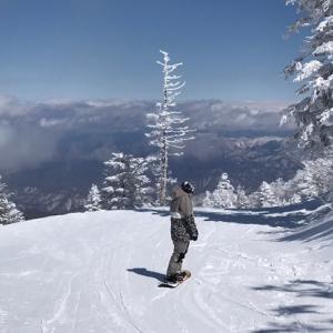 天元台高原スキー場 2020年3月 (山形県 米沢市)