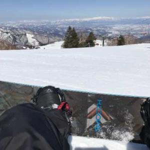 天元台高原スキー場 2021年3月 (山形県 米沢市)