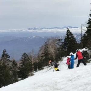 天元台高原スキー場 2021年4月 (山形県 米沢市)