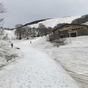 月山スキー場  2021年5月 (山形県 西川町)