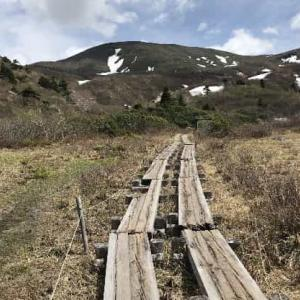 栗駒山 2021年5月 (岩手県 一関市)