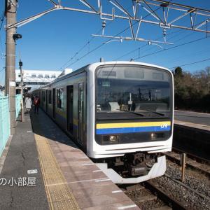 いすみ鉄道「第二五之町踏切」、外房線・内房線