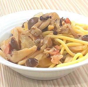 プラスの朝食をぜひ(キノコパスタ!)