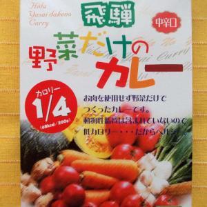 412食目:飛騨野菜だけのカレー中辛口(天領食品)