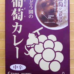 485食目:ぶどう園の葡萄カレー中辛(ありが桃園)