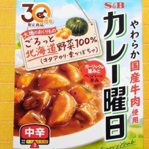 577食目:カレー曜日 大地のおくりもの 中辛(期間限定 製造終了)(エスビー食品)