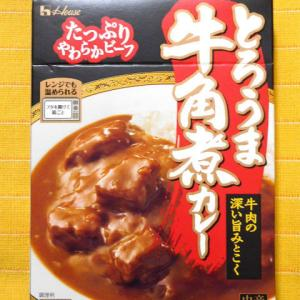 591食目:とろうま牛角煮カレー中辛(ハウス食品)