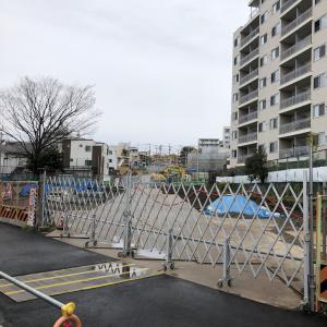 2020年2月時点の「都市計画道路補助26号線」(三宿二丁目~池尻四丁目)