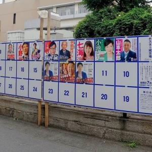 東京都知事選の期日前投票に行ってきた