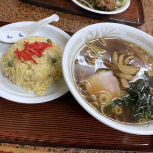 代沢の中華料理屋さん「丸長」の炒飯コンビを頼んでみた