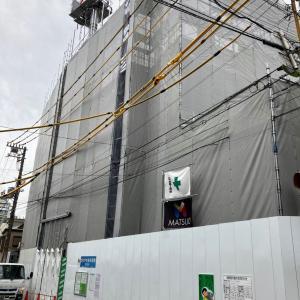 世田谷代田駅近くで工事中のビルは阪急阪神不動産の賃貸Geoシリーズ?