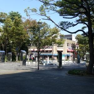 F教室:開口広場公園/開口広場の午後(横浜海岸教会)