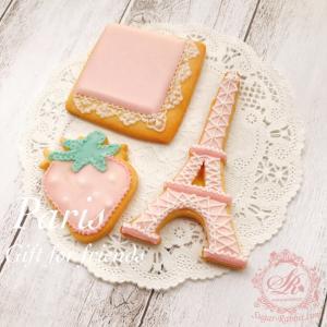 【アイシングクッキー】フランス・パリのイメージ