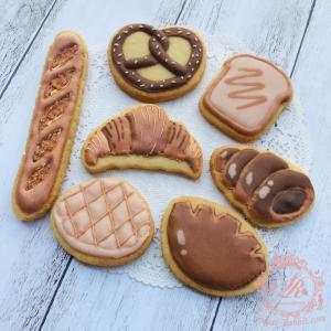 【アイシングクッキー】パン祭り?!