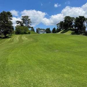 古希を前に真夏のゴルフ