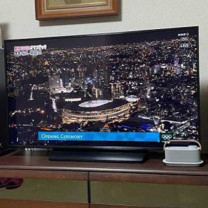 いろいろな思いが去来する東京オリンピック開会式