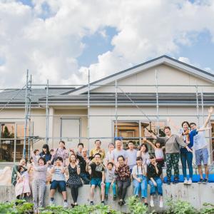 2018.08.11_親族が集まって家族写真(青森県十和田市)
