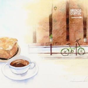 美味しいパンのお店。