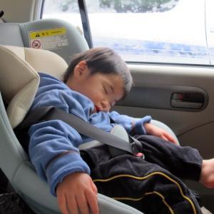 夏の思い出3人兄弟の赤ちゃん時代の車中