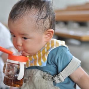 赤ちゃんと水分補給