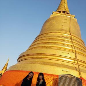 タイの中心のお寺