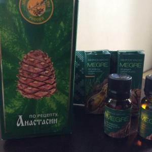シベリアアナスタシアのオイルの素晴らしさ