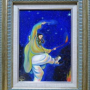 「聖徳太子と星信仰」原画完売のお知らせ✨