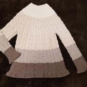 求心編みのプルオーバー♪