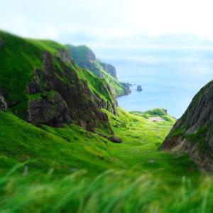 礼文島。絶景の桃岩とウニ丼