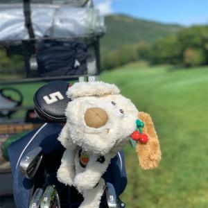 今日も、ゴルフ。そして、撮影小道具