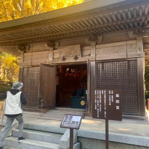 播州清水寺でお散歩会でした