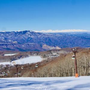 平日の白樺高原国際スキー場