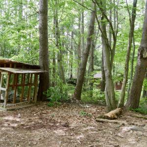 薪小屋の解体(その1)